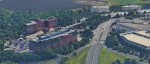 google 3d aerial imagery of 51, 101 and 103 jfk turnpike in short hills new jersey