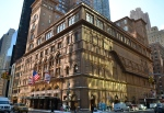 street level view of the lobby of carnegie hall tower in manhattan