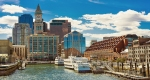 Boston from the river