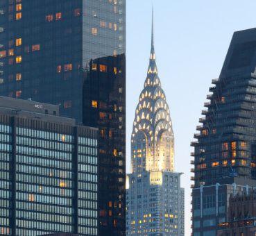 high-rises in Manhattan