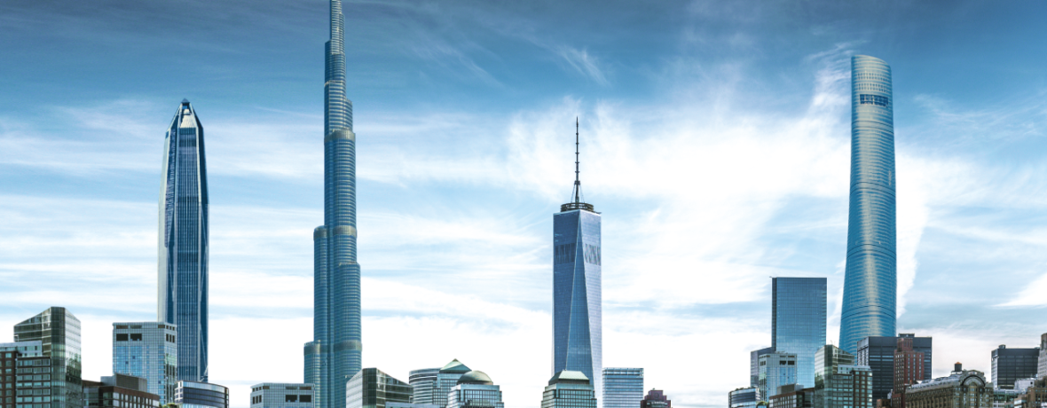 Racing for the Sky: The World's Tallest Buildings to Date