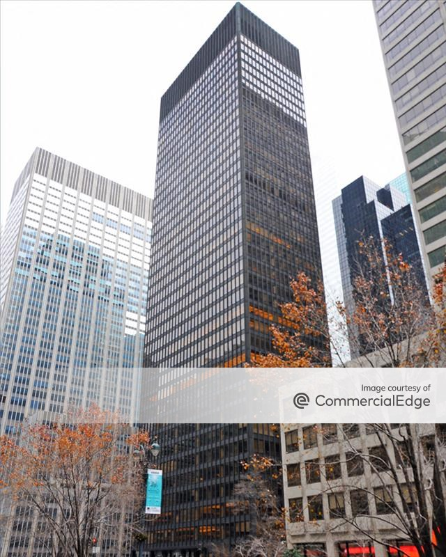 The Seagram Building in New York. Image Source: CommercialEdge.