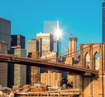 new york city skyline office buildings