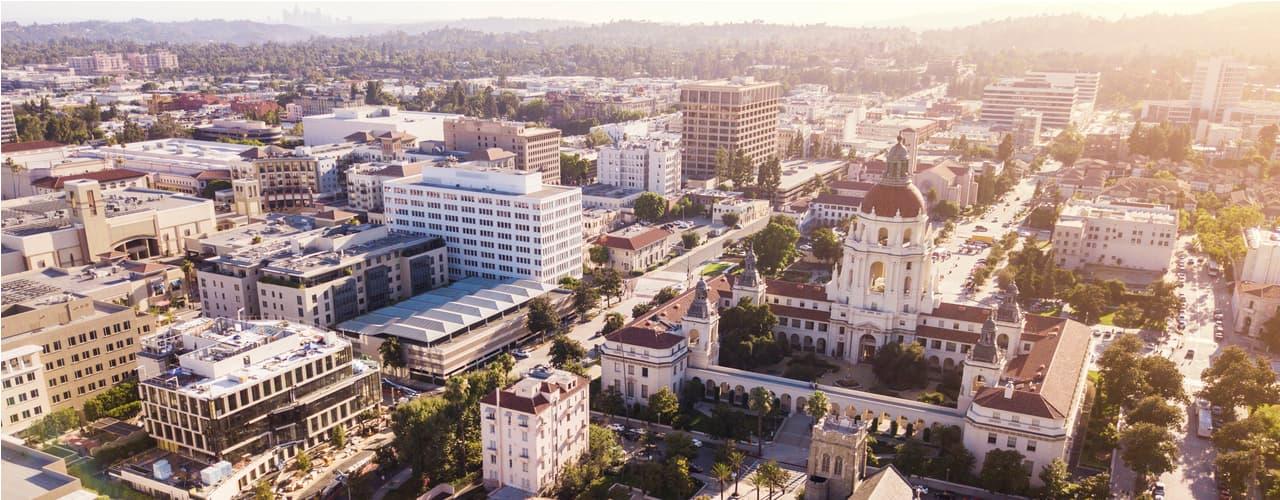 Pasadena downtown