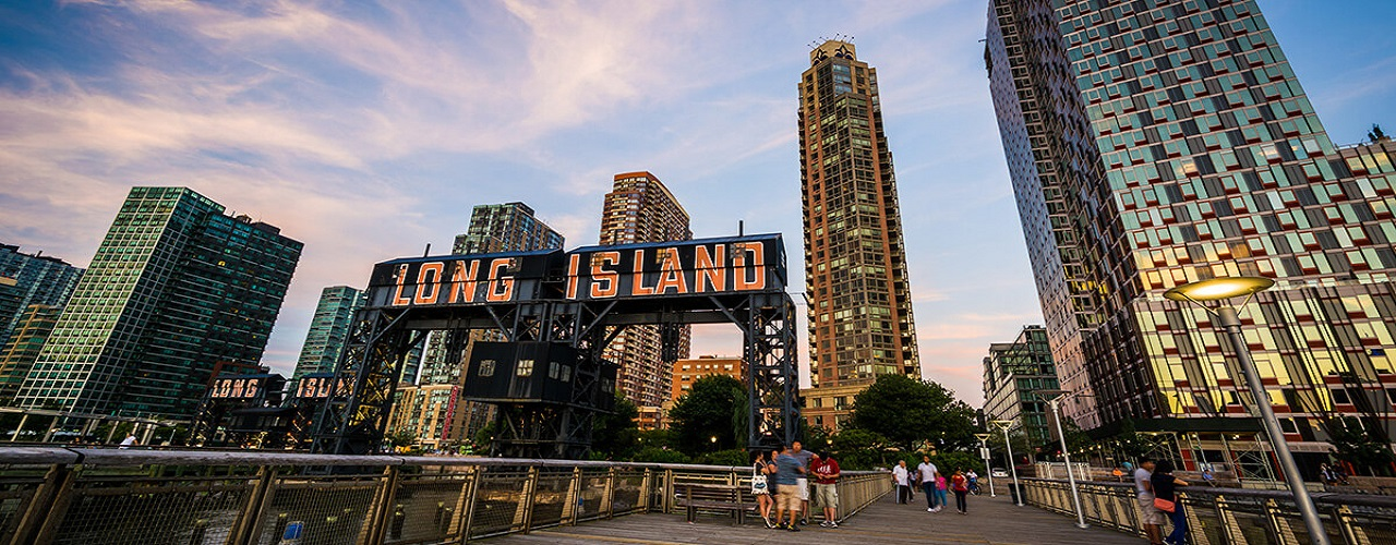 Image of the Long Island City pier