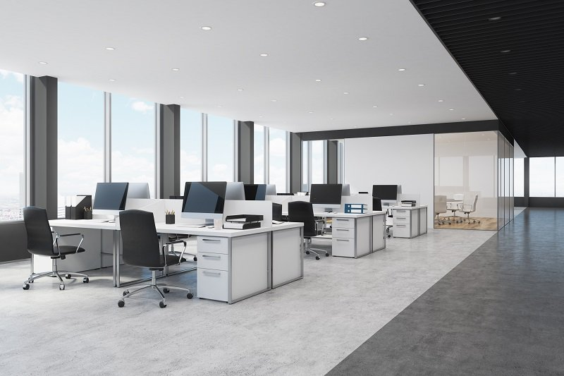 Open space workstations