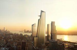 30 Hudson Yards (left) & 10 Hudson Yards (right) - courtesy of Kohn Pedersen Fox