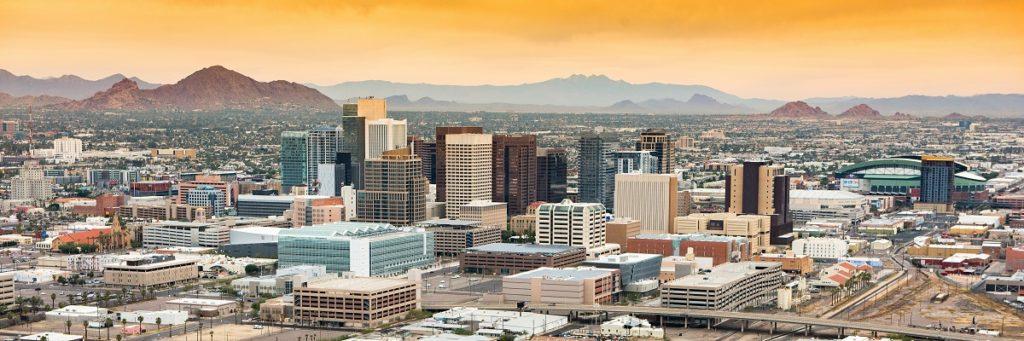 Phoenix, Ariz., skyline (Shutterstock)