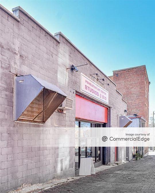 Pendleton Art Centers Warehouse, Cafe Studios & Annex