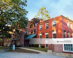 Butler Hospital - Hall & Johnson Buildings & Center House Rear - Providence
