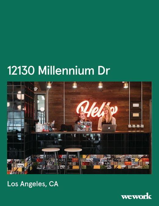WeWork | 12130 Millennium Dr