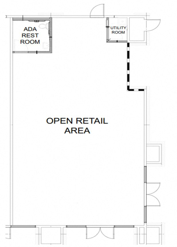 Open Retail Unit Space Photo Gallery 1