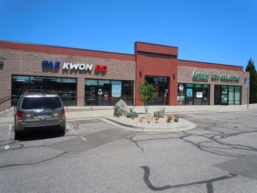 Retail Space with Building Marquee: 6709 West Coal Mine Avenue