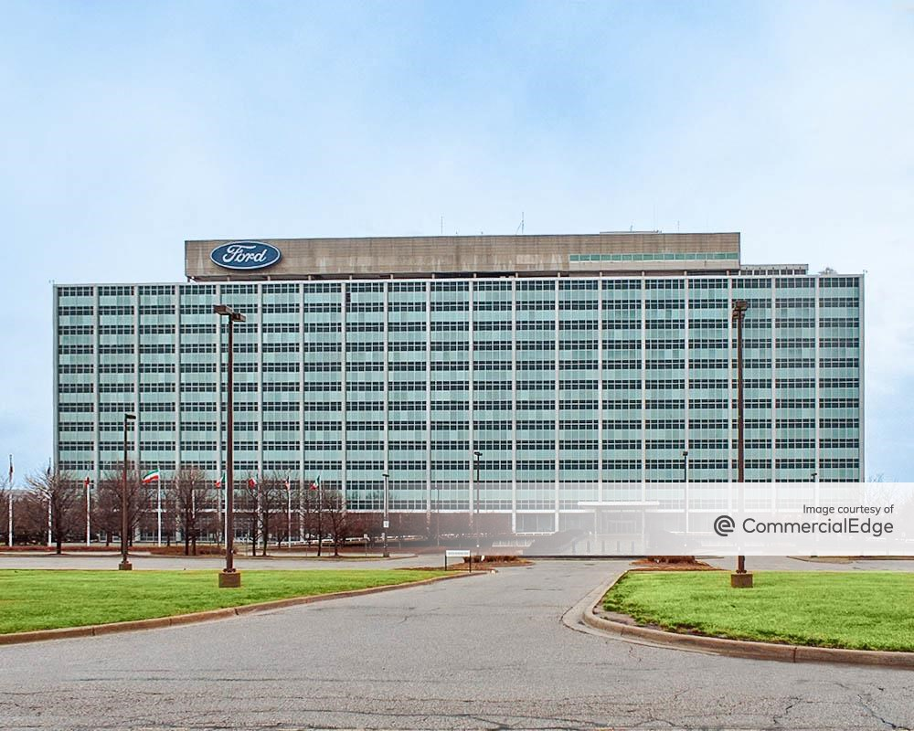 Ford Motor World Headquarters 1 American Road Dearborn Mi Office Space