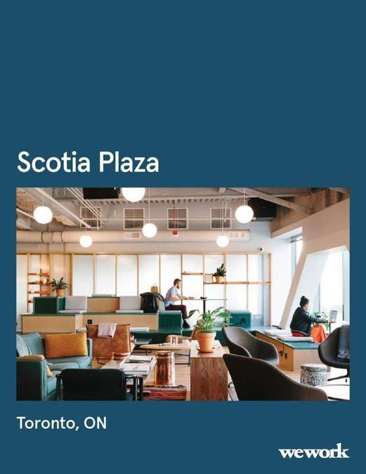 WeWork   Scotia Plaza