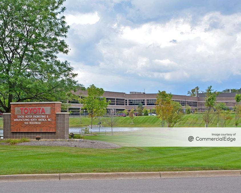 Toyota Motor North America Research and Development - 1555 Woodridge Avenue