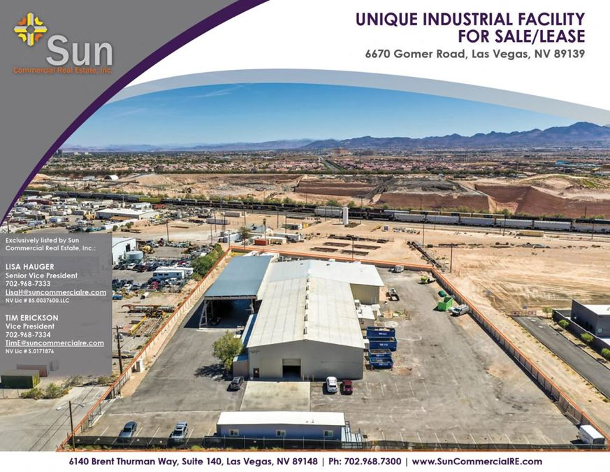 Unique Industrial Opportunity