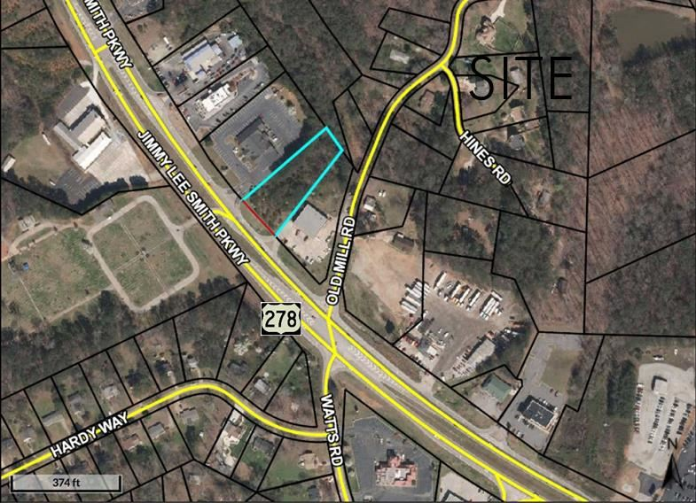 Jimmy Lee Smith Parkway Land