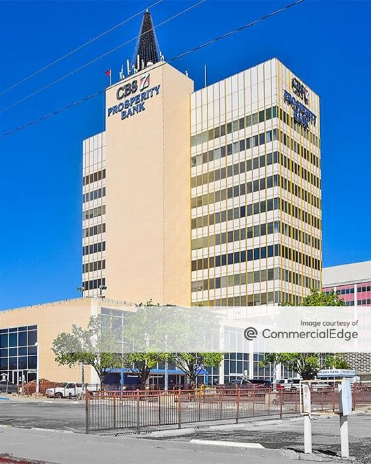 The CBS 7/Prosperity Bank Tower