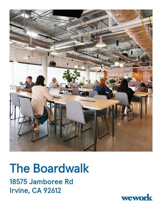 WeWork | The Boardwalk