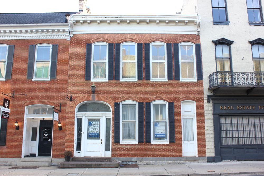 Office Space in Downtown Historic Hagerstown