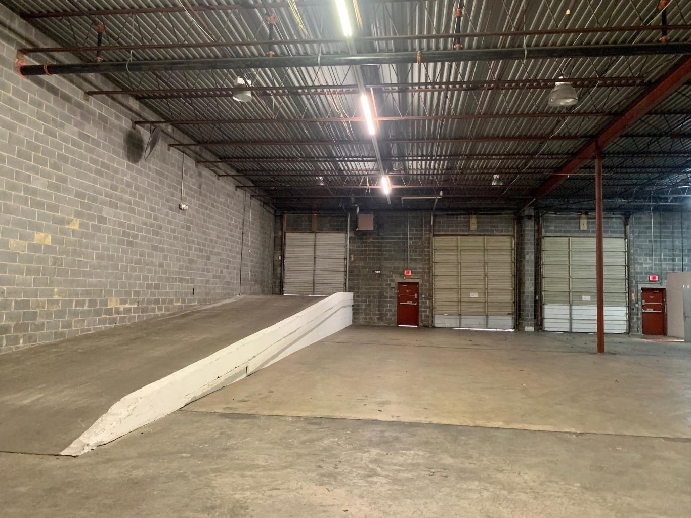15,750 SF Warehouse with Dock, Drive-ins, Office