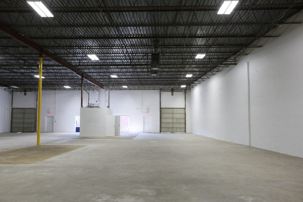 10,000 SF Warehouse with Two Drive-in Bays and Office