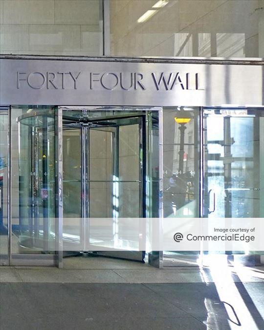 44 Wall Street