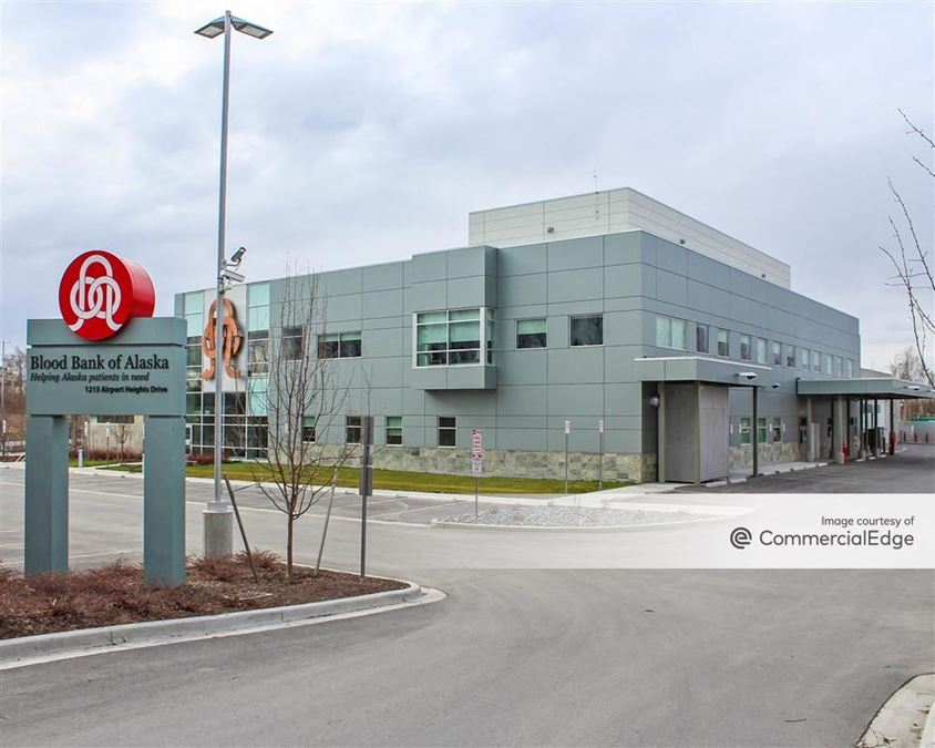 Blood Bank of Alaska Headquarters