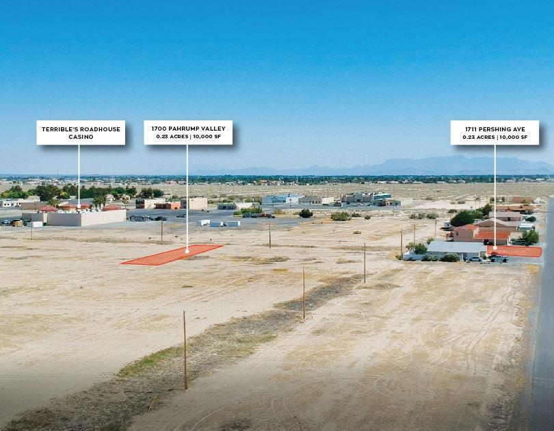 Pahrump Nevada Custom Homesites Portfolio