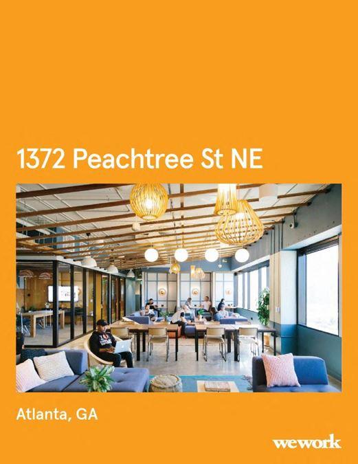 WeWork | 1372 Peachtree St NE